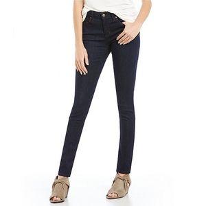 Eileen Fisher Indigo Organic Cotton Skinny Jeans